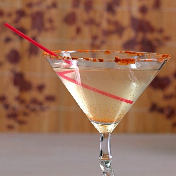 The Spicy Martini is just what it sounds like: gin, vermouth and the hot sauce of your choice. You may be worried about drinking hot sauce straight up - and it is pretty intense - but there's more to it.