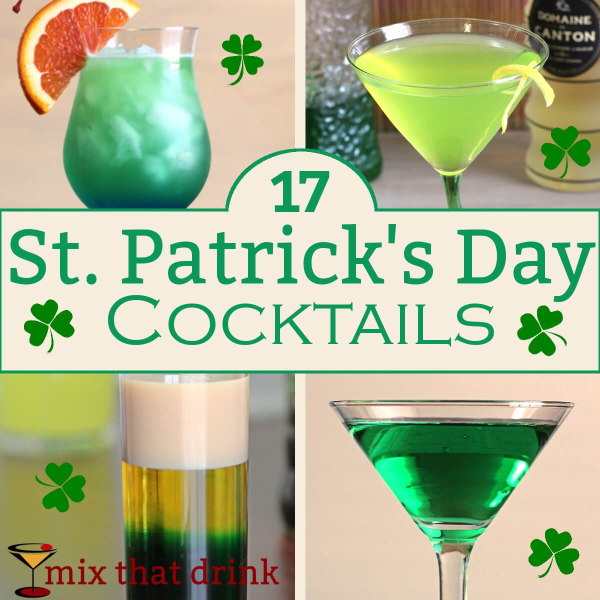8fefe32a3 17 St. Patrick's Day cocktails | Mix That Drink