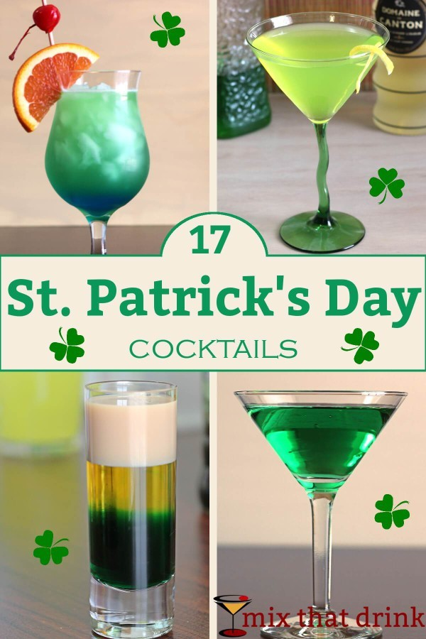 c332e51a2 You may think of the usual St. Patrick's Day drink as green beer. But