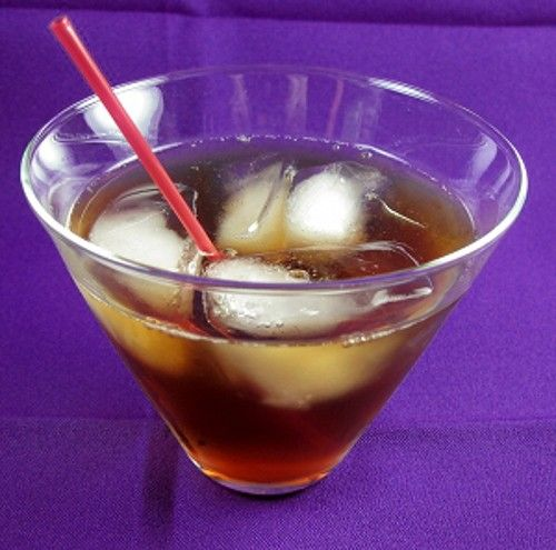 Spanish Fly drink recipe - Butterscotch Schnapps, Cherry Liqueur, Vanilla Schnapps, Cola