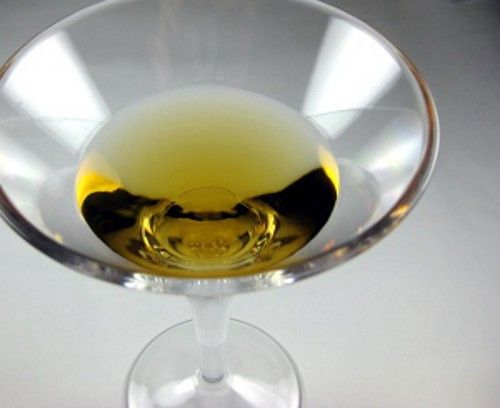 Tequini drink recipe - Tequila, Dry Vermouth, Bitters, Lemon or Olive