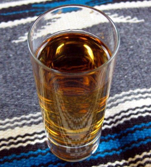 Ski Shooter drink recipe - Vodka, Amaretto, Sour Mix