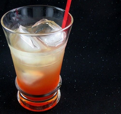 Russian Monster Tom Collins drink recipe - Vodka, Sour Mix, Grenadine