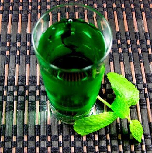 Green Beret drink recipe - Vodka, Green Peppermint Schnapps