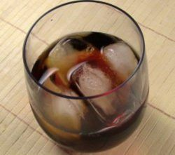 Be Sweet drink recipe - Whiskey, Parfait d'Amour, Ginger Ale
