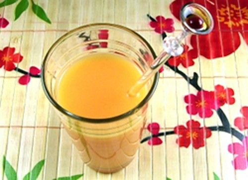 Fuzzy Logic drink recipe - Vodka, Triple Sec, Peach Schnapps, Orange Juice