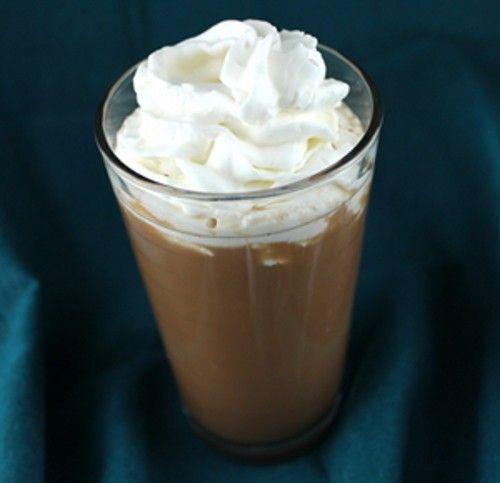 Frangelico Float drink recipe - Vanilla Ice Cream, Frangelico, Creme de Cacao, Milk, Chocolate Syrup