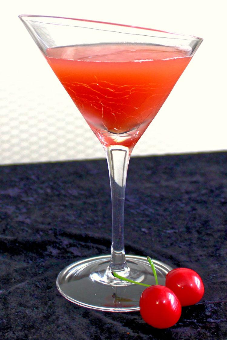 Halloween Brew drink with cherries