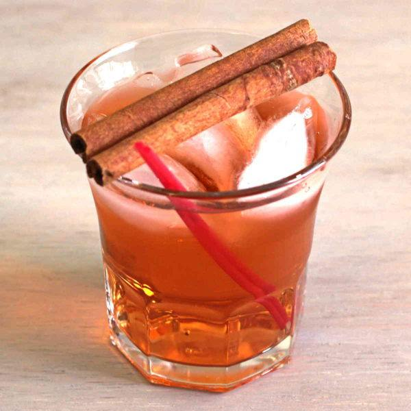 Our collection of fall-themed Thanksgiving cocktail recipes, featuring warm drinks with autumn flavors like cinnamon, apple, pumpkin and nutmeg.