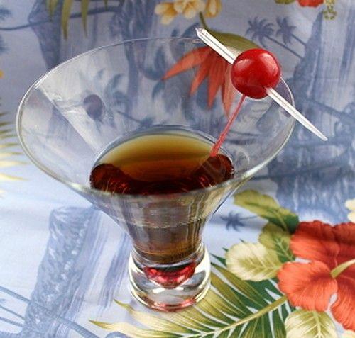 Mumsicle drink recipe - Dark Rum, Bourbon, Bitters