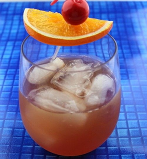 Bourbon Daisy drink recipe - Bourbon, Lemon, Grenadine, Sugar