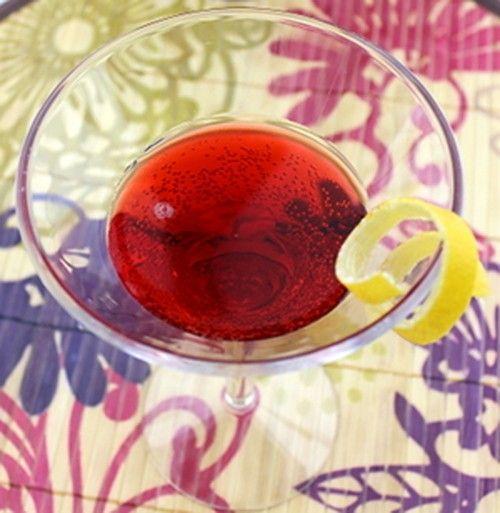 Charlie Chaplin drink recipe - Apricot Brandy, Sloe Gin, Lemon Juice