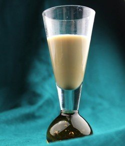 Princess drink recipe - Apricot Brandy, Cream