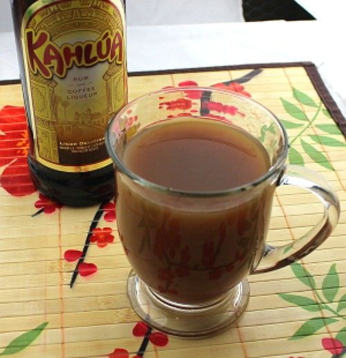 Mangan Coffee drink recipe - Baileys, Kahlua, Bacardi Black Rum, Myer's Dark Rum, Coffee