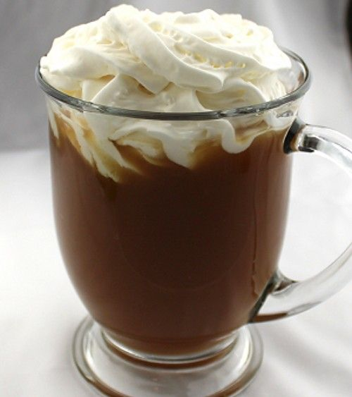 Scrumptious Coffee recipe - Strong Black Coffee, Brown Sugar, Brandy, Rum, Cinnamon, Whipped Cream, Orange Peel