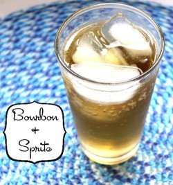 Bourbon and Sprite recipe - just what it sounds like