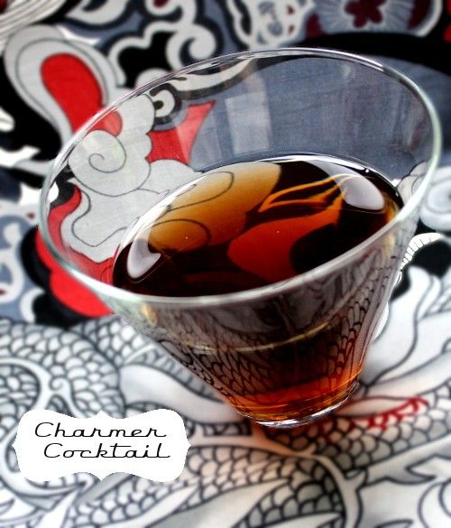 Charmer drink recipe - Scotch, Orange Curacao, Dry Vermouth, Bitters