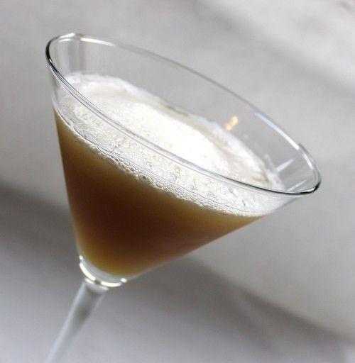 Baltimore Bracer drink recipe - Brandy, Anisette, Egg White