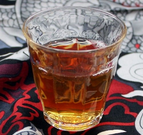 Cookie Tosser drink recipe - Vodka, Lemon, Bourbon, Kahlua