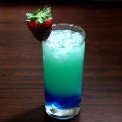 Urban Violence drink recipe - Tropicana Twister, Malibu Rum, Vodka, Blue Curacao