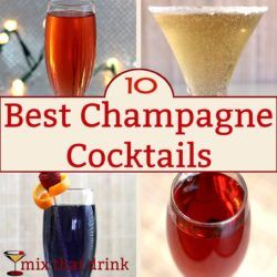 Champagne cocktails are fizzy and easy to love, and they turn leftover or cheap champagne into deliciousness. They're great for entertaining, or anytime you're wanting champagne with a little more kick.