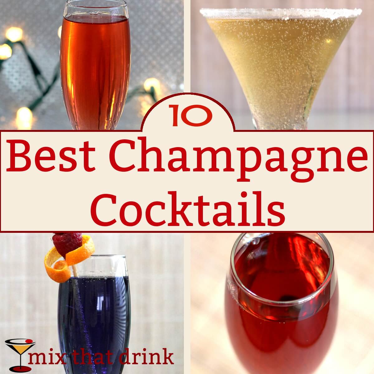 10 best champagne cocktails mix that drink