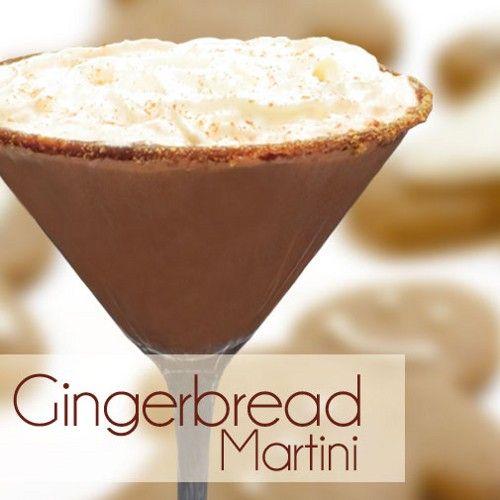 Gingerbread Martini recipe -