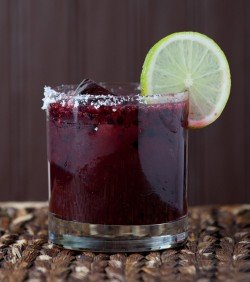 Favela Cubana's Mora PIcante drink recipe - Blackberries, Roasted Jalapeno-Infused Tequila, Triple Sec, Lime