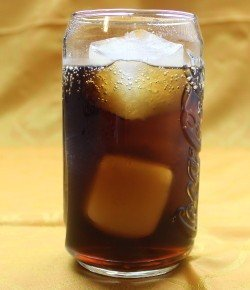 Carmel Coke drink recipe - Butterscotch Schnapps, Coca-Cola
