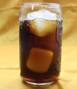 Carmel Coke drink recipe - Butterscotch Schnapps, Coca-Cola
