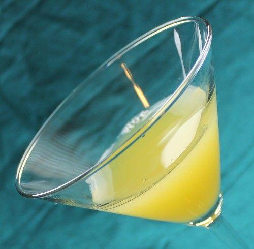 Polo Cocktail recipe - Gin, Lemon, Orange