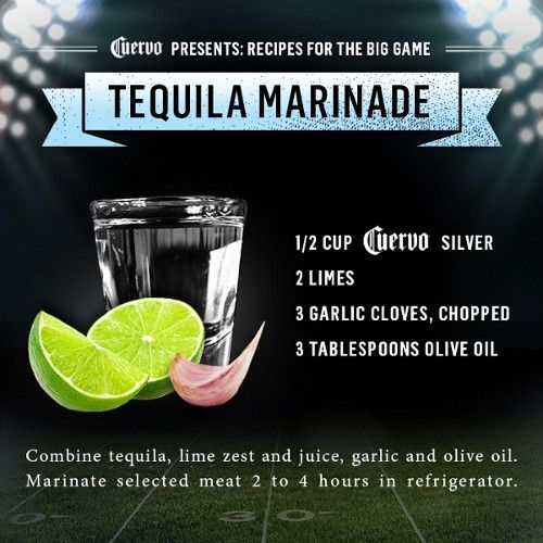 Tequila Marinade for meat