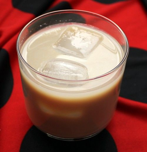 Aggravation Cocktail recipe - Scotch, Kahlua, Cream