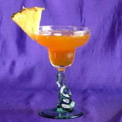 Cactus Bowl drink recipe: Spiced Rum, Amaretto, Rum, Pineapple, Lime