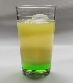 Sun of a Beach drink recipe - Midori, Gin, Orange Juice