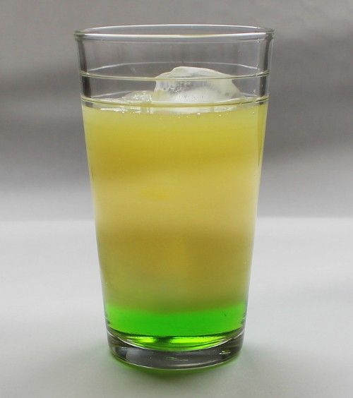 Sun of a Beach drink recipe - Midori, Gin, Orange Juice