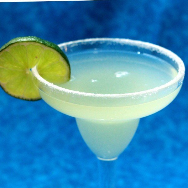 Top Shelf Margarita recipe: tequila, Grand Marnier, lime juice