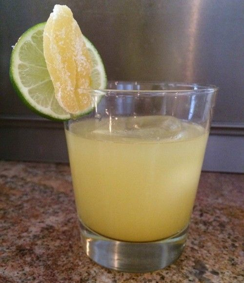 Tumba drink recipe - Mezcal, Canton Ginger Liqueur, Grapefruit, Agave, Lime