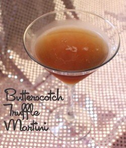 Butterscotch Truffle Martini recipe: Butterscotch Schnapps, Creme de Cacao, Vodka