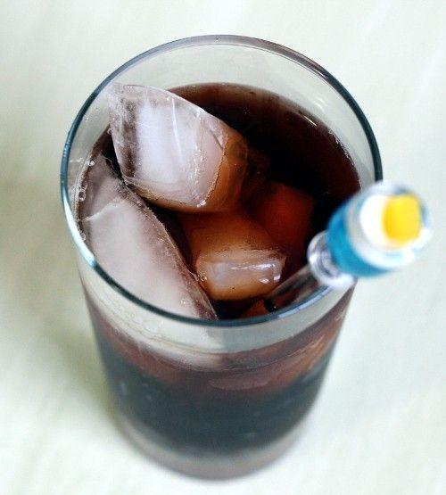 Evil Tea drink recipe - Spiced Rum, Very Sweet Iced Tea