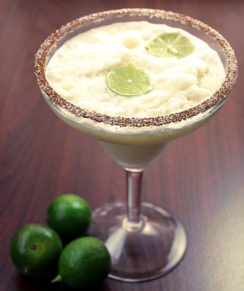 Mango Key Lime Margarita recipe, with mango, key lime juice and orange juice