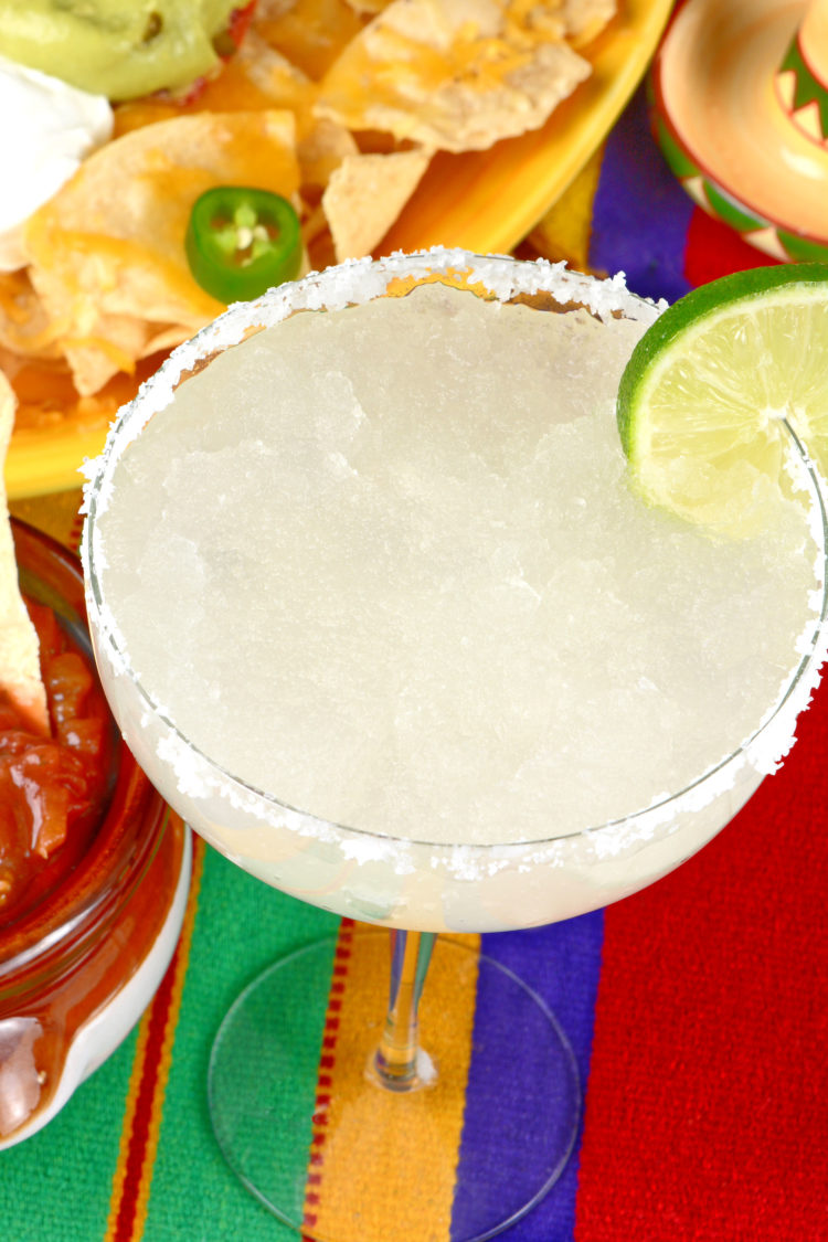 Beer Margarita with nachos