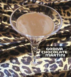 Godiva Chocolate Martini recipe - Godiva Chocolate Liqueur, Creme de Cacao, Vodka, Cream