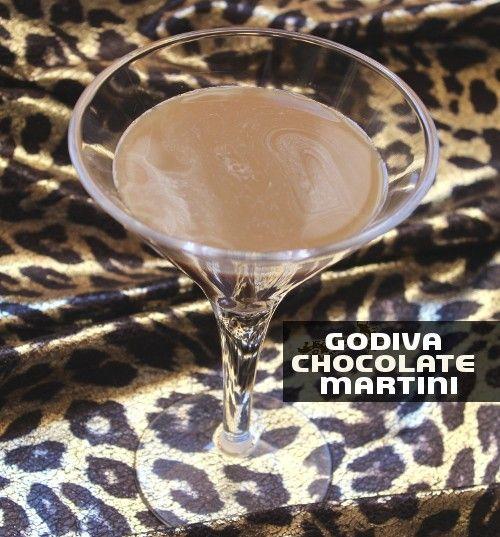 What To Mix With Godiva Chocolate Vodka