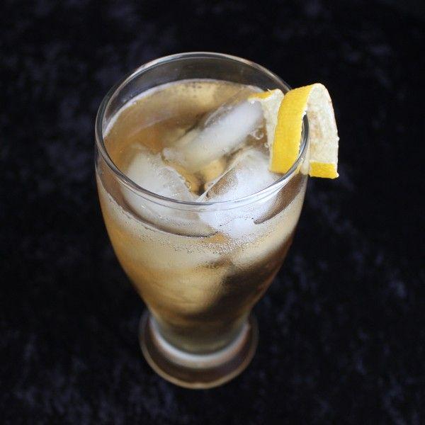 Bermuda Highball drink recipe - Brandy, Gin, Dry Vermouth, Club Soda