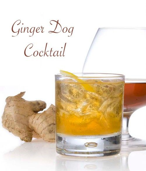 Ginger Dog drink recipe - Vodka, Powell & Mahoney Ginger, Grapefruit Juice