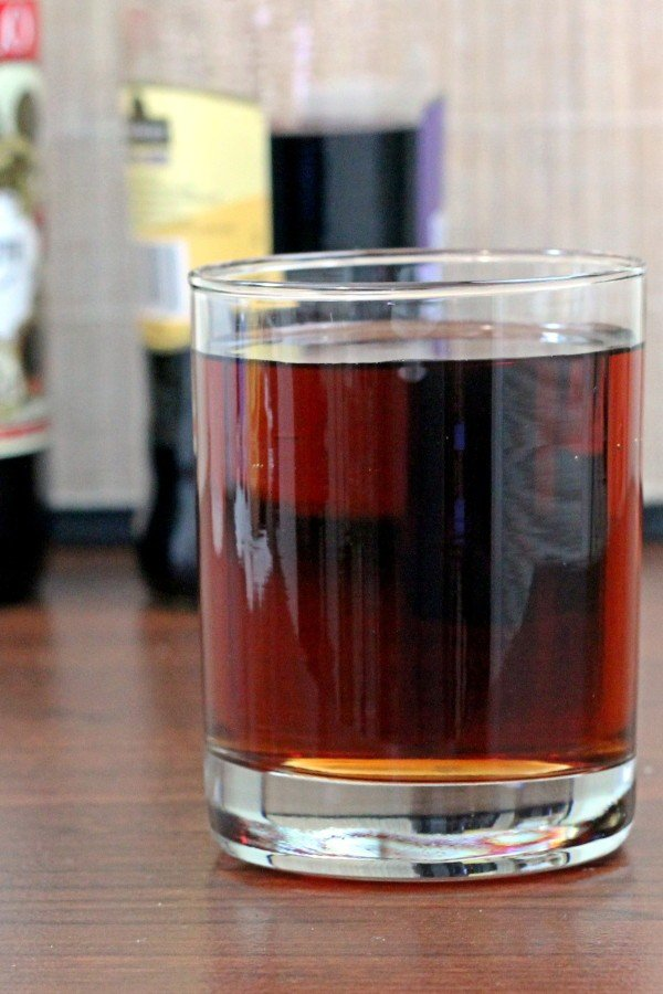 Cascade Cocktail recipe with sweet vermouth, creme de cassis and optional gin.