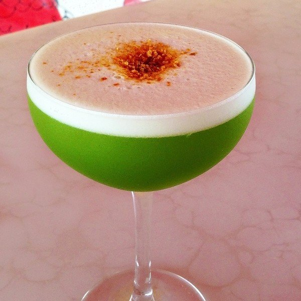 Matcha Pisco Mix That Drink