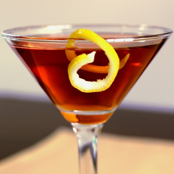 Affinity Cocktail recipe: scotch, dry vermouth, sweet vermouth, Angostura bitters