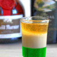 Irish Flag drink recipe